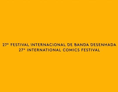 Spot 27º Festival Internacional de Banda Desenhada