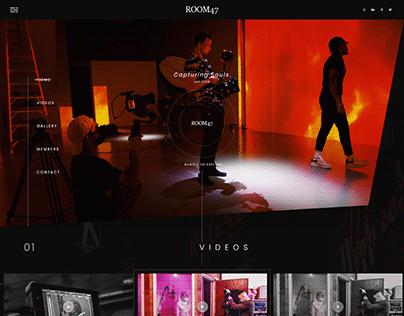 ROOM47 STUDIO Portfolio Website Design