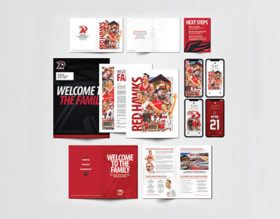 Red Hawks Athletics Recruiting and Outreach Materials