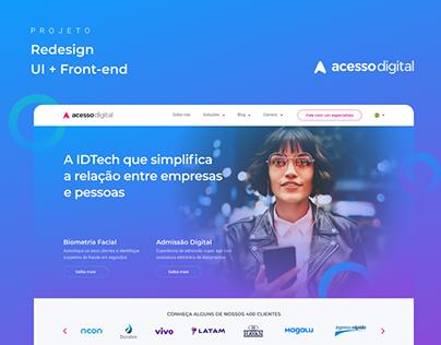 Acesso Digital - Novo Site