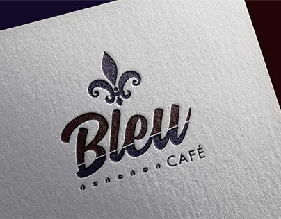 BLEU CAFÉ - BRANDING