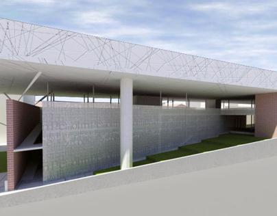 Biblioteca e Centro Polifunzionale per Uni. Roma Tre