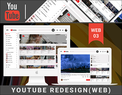YOUTUBE(WEB) - REDESIGN CONCEPT