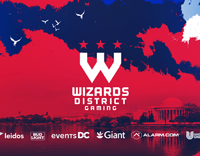 Wizards District Gaming 2020 Rebrand