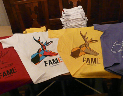 FAML Clothing - Brand Identity and T-Shirt