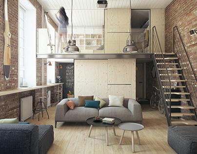 Haruki's apartment