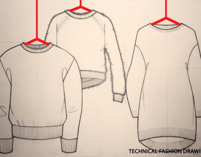 Fashion Drawings 'Technical'