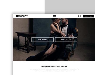 PRO PHOTO STUDIO // Landing Page