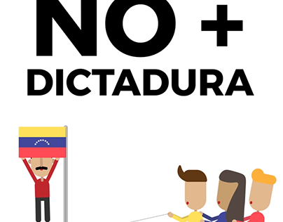 No more dictatorship! Free Venezuela!