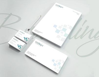 Brand Identity Design for Vialogic - UK