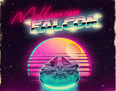 Star Wars synthwave