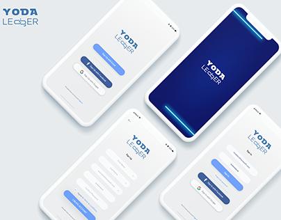 Mobile App Login Screens