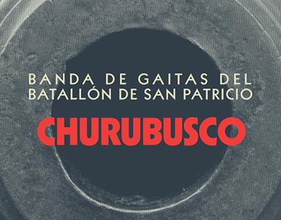 Banda de Gaitas del Batallón de San Patricio.