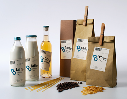 B Natural - Corporate Identity Bachelor Project (2011)