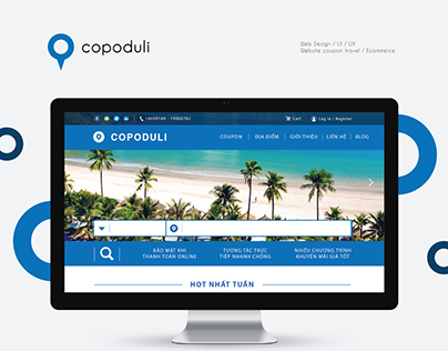 Website Coupon Travel - Copoduli