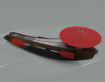 Calm Kayak (Winner of Lexus Design Award)