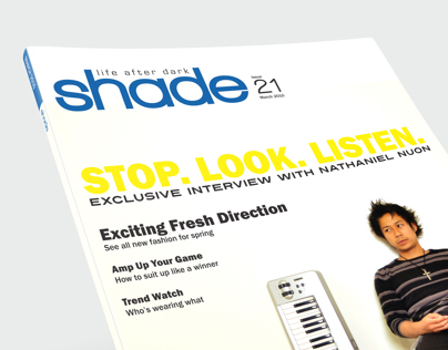 shade - Magazine Design