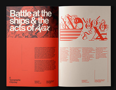 A Typographic Odyssey | Magazine