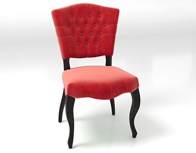 Modeling & visualization of the chair Marilyn
