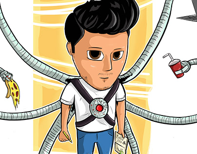 DOCTOR OCTOPUS 'my character' Multitasking