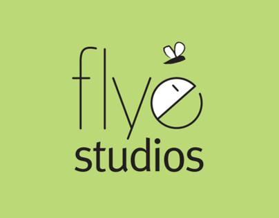 Flye Studios Branding and Creation