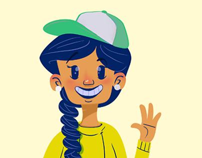 Finn family - Character Design