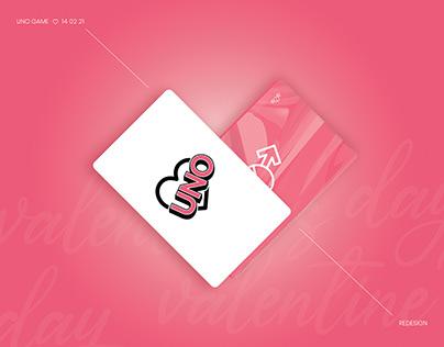UNO redesign ♡ valentine's day