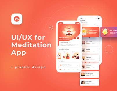 Namaste | Mobile app for meditation