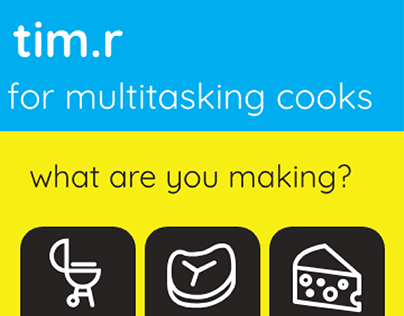 Tim.r - app concept for busy cooks