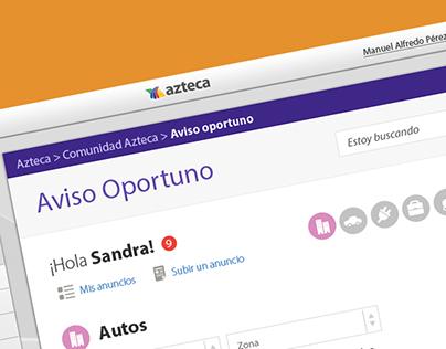 Aviso Oportuno - TV Azteca
