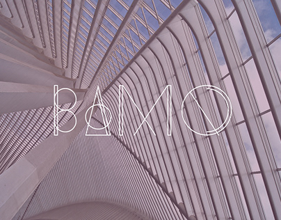 Bamq Typeface
