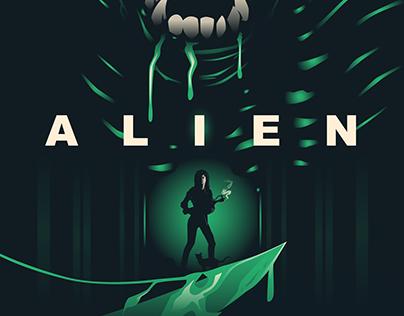 ALIEN Poster Art
