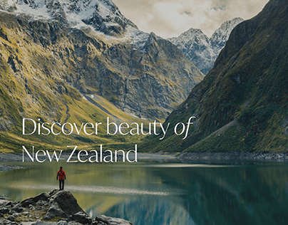 Discover beauty of New Zealand
