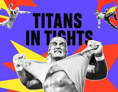 TITANS IN TIGHTS | WEBSITE DESIGN