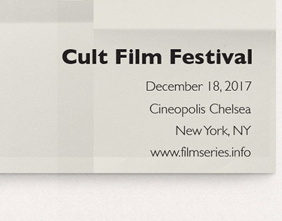 Mock Cult Film Festival