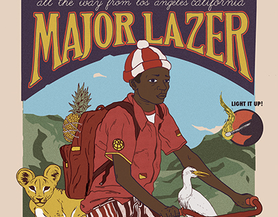 MAJOR LAZER - LIMITED EDITION POSTER