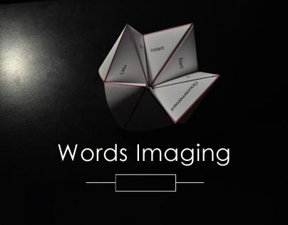 Words Imaging // Artwork - 2013