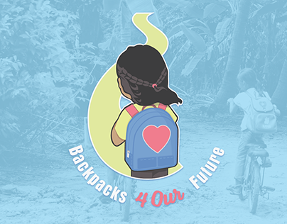Backpacks 4 Our Future Logo Design