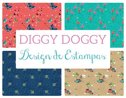[Estampa] Coleção de Estampas DIGGY DOGGY 2018