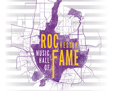 Rochester Music Hall of Fame contest (poster entry)