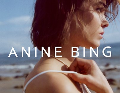 ANINE BING   Spring 2018   By The Sea