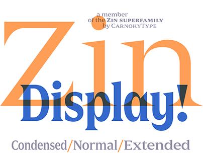 Zin Display (+ Free Demo)