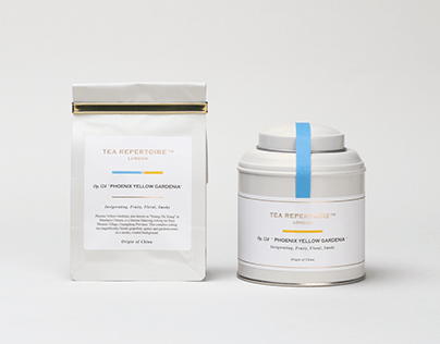 TEA REPERTOIRE | Branding & Packaging