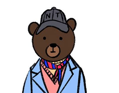 The Fashionable Bear