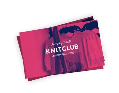 Business card for KnitClub