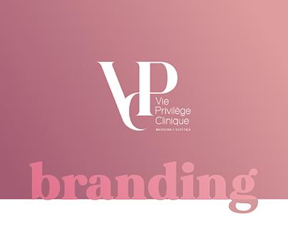 Branding Vie Privilège Clinique