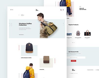 Mr.Bara Backpack Store Concept