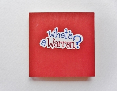 What's a Warren? - custom children's book