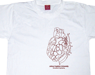 Johns Hopkins Biomed Engineering Dept T-shirt
