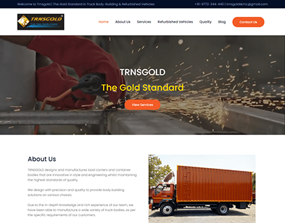 Containers Designers and Manufacturing Co. Website